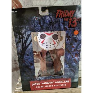 Friday the 13th Jason window wigglers Halloween de
